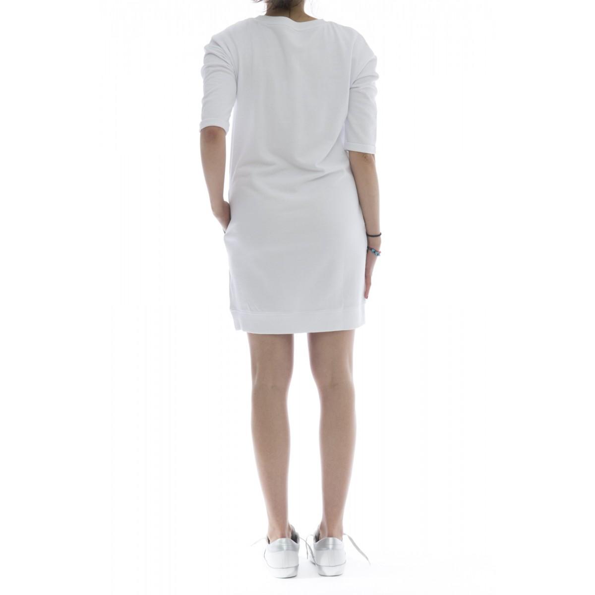 Vestito - F18206 felpa abito lungo