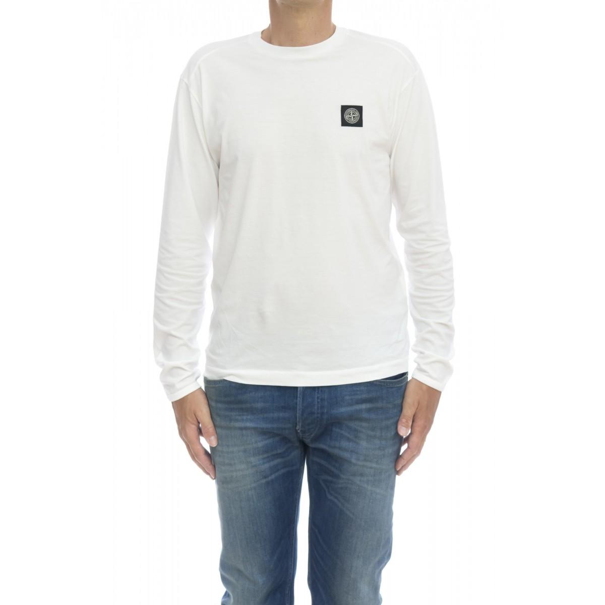 T-shirt - 24041 t-shirt manica lunga patch