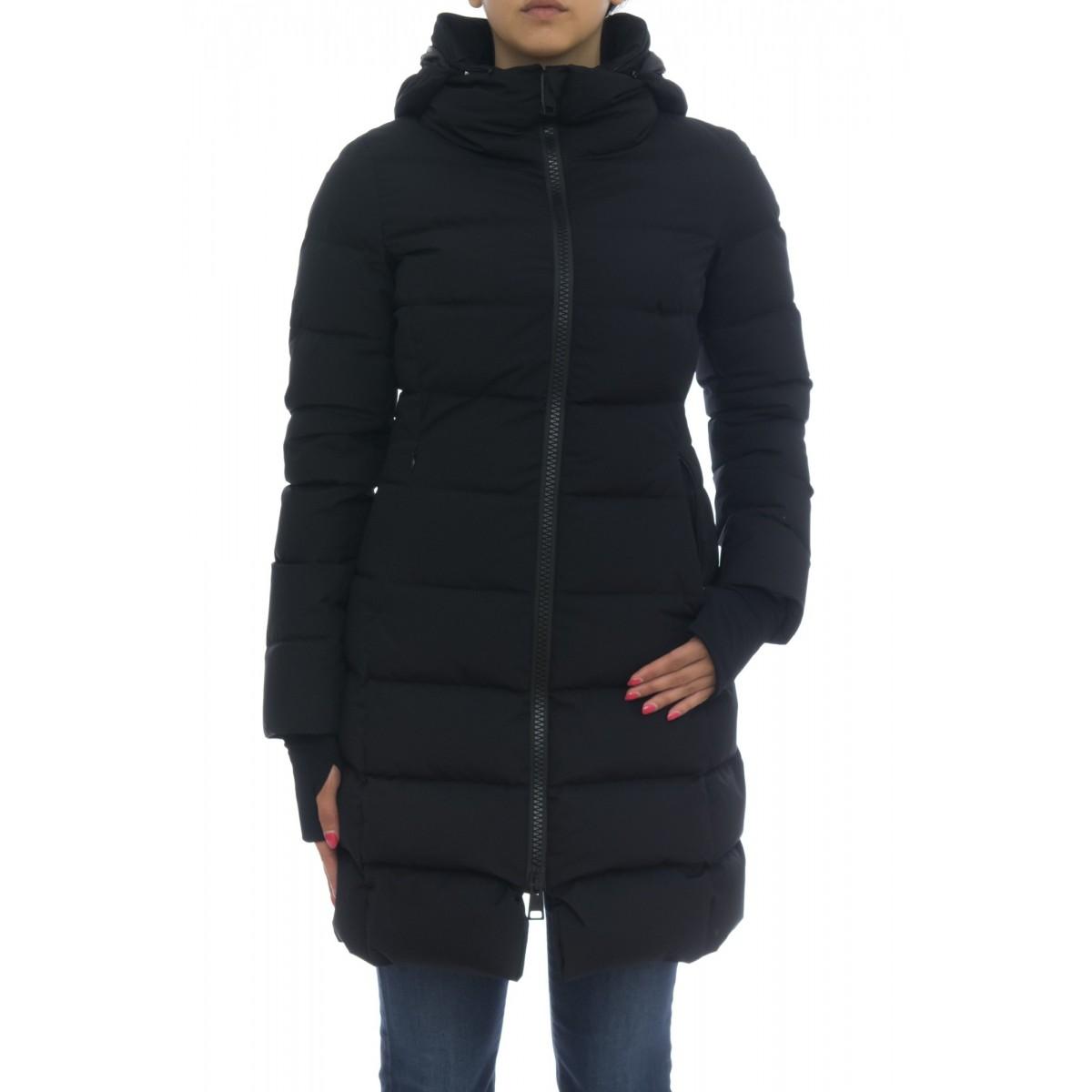 Down Jacket Woman- Pi056dl 11106 piumino laminar sfiancato