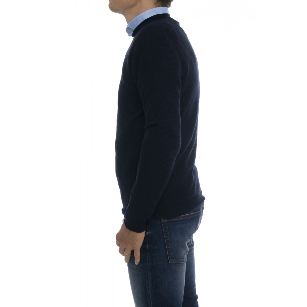 Sweater Man- 6012/01 maglia lavorazione links
