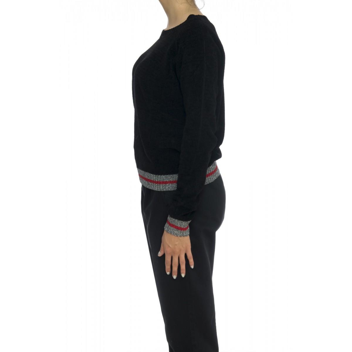 Maglieria - Asti maglia ciniglia bordo lurex