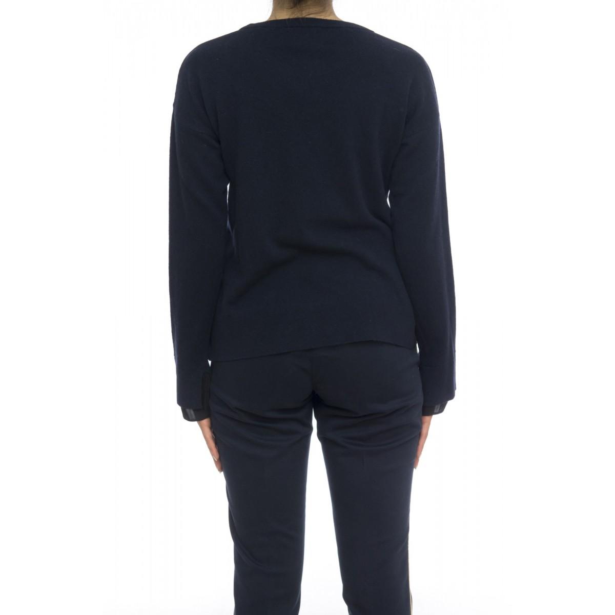 Maglia donna - J1316 maglia giro inserto