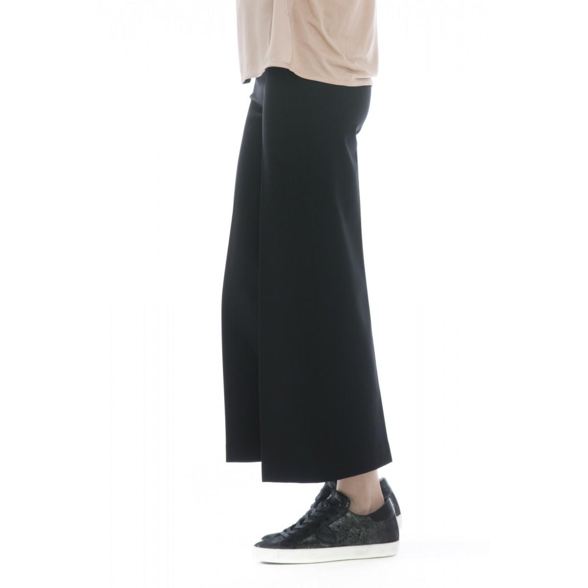 Pantalone donna - J4105 pantalone punto milano ampio elastico