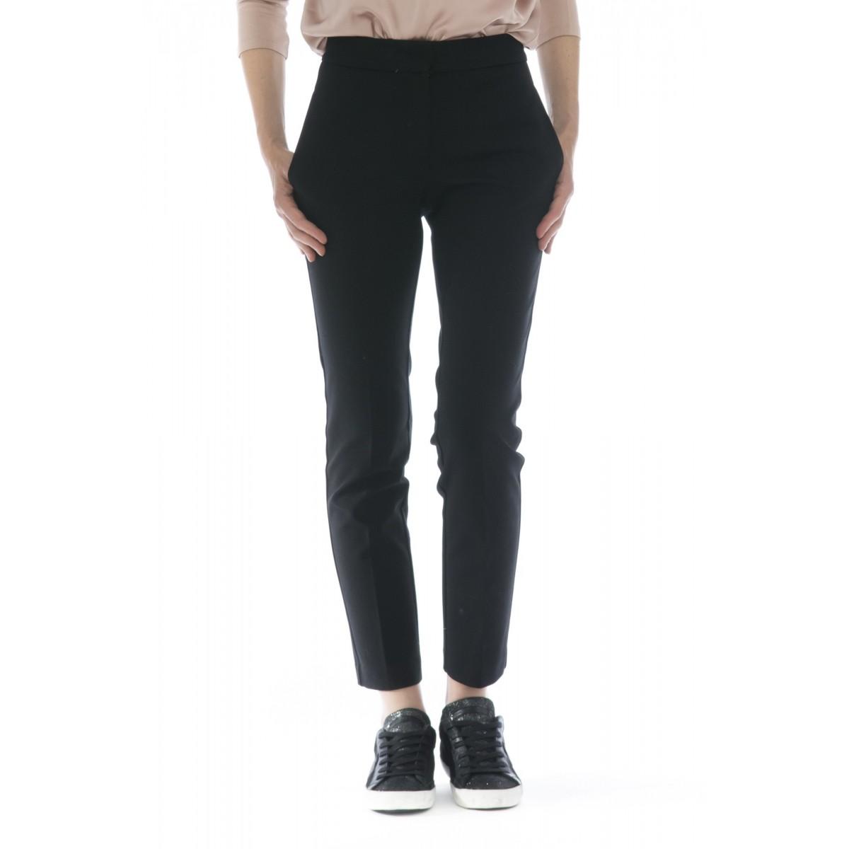 Pantalone donna - J4107 pantalone sigaretta punto milano