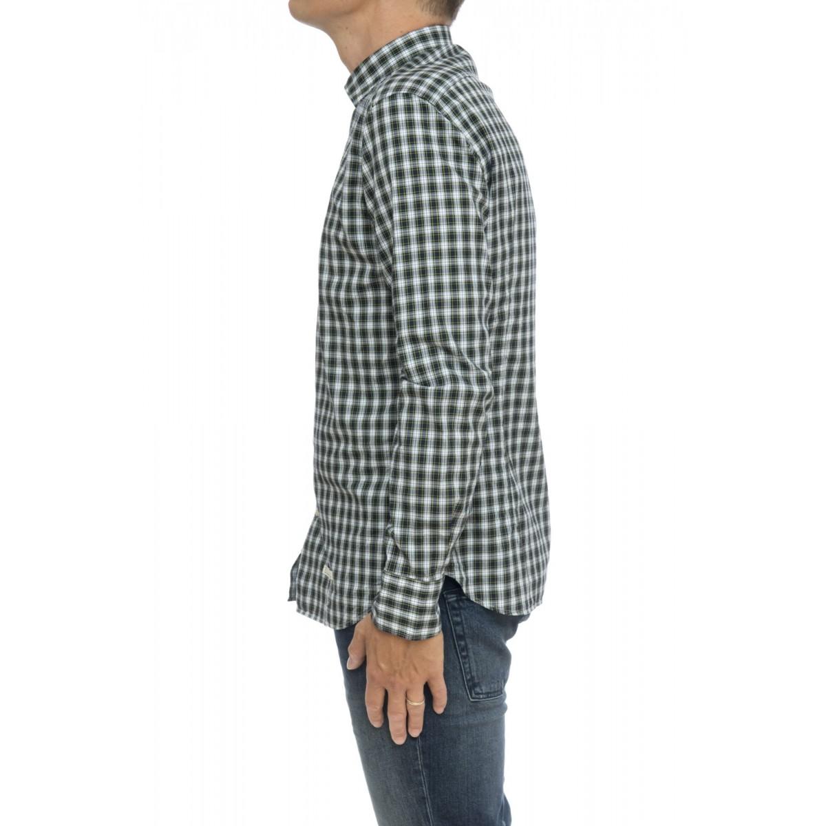 Camicia uomo - Aj njw camicia scozzese slim