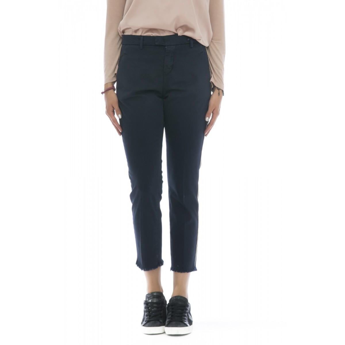Pantalone donna - TRES pantalone color sfrangiato