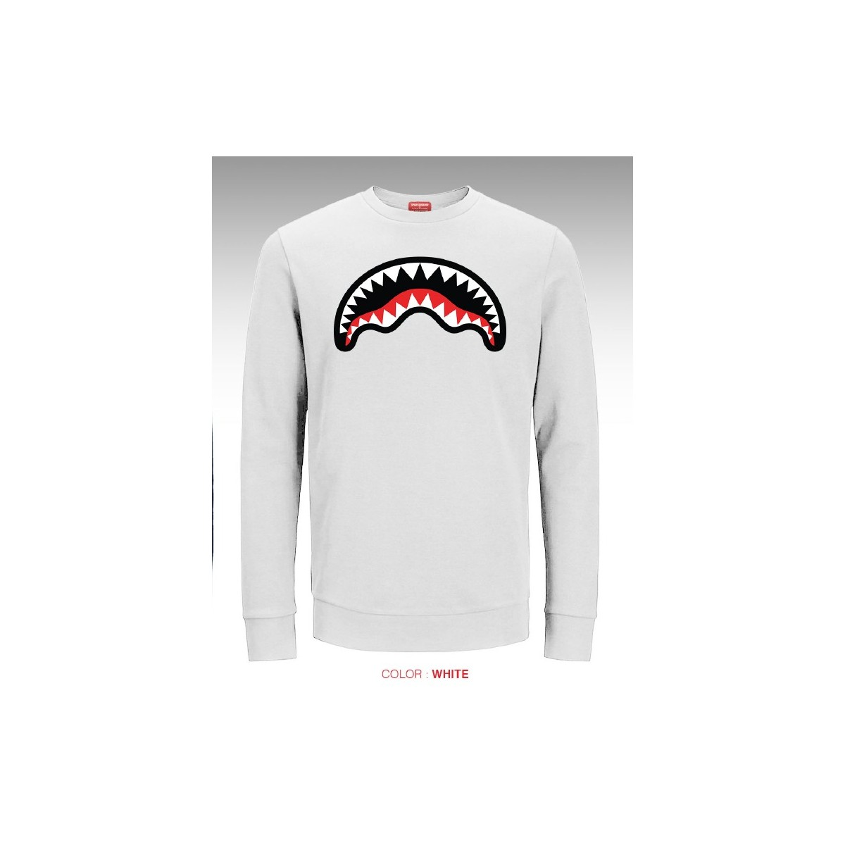 Felpa uomo - Shark crew felpa