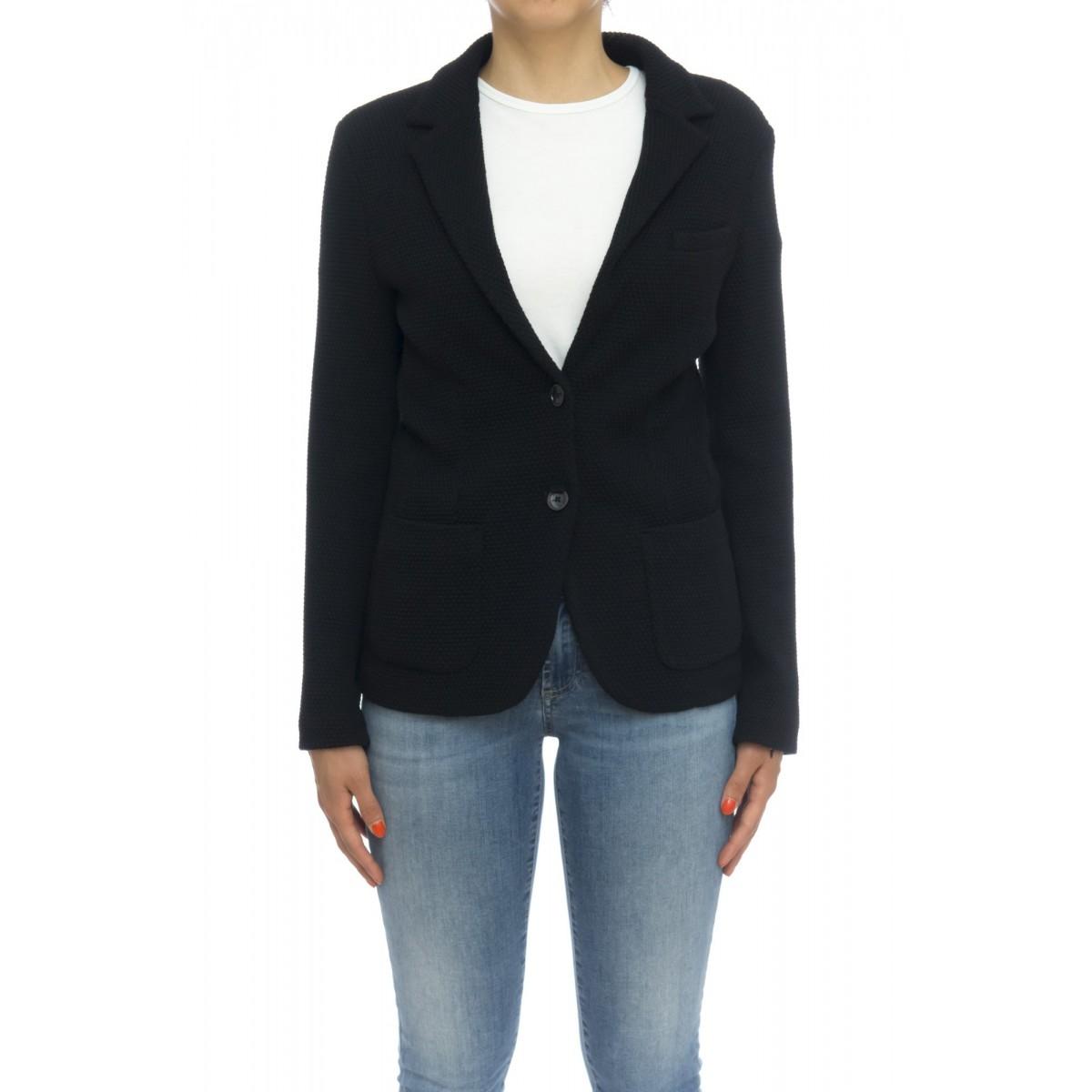 Giacca donna - Fd1204 giacca nido d'ape