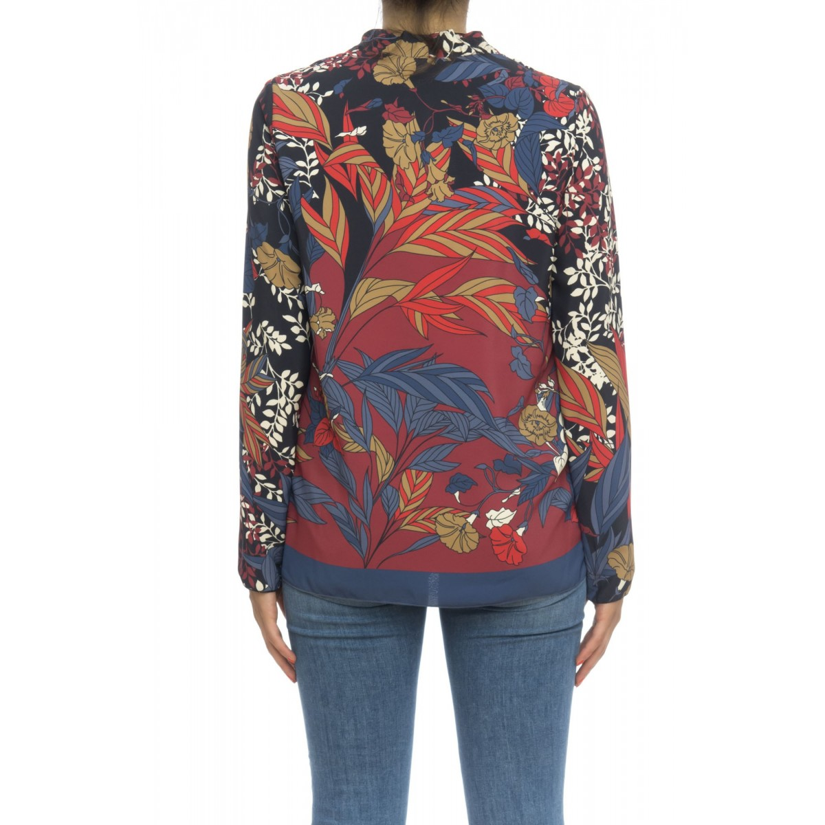 Camicia donna - Tizer camicia stampa