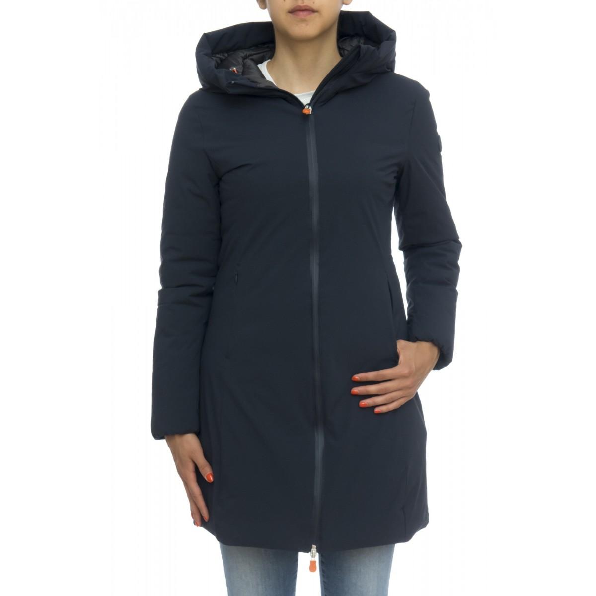 Piumino - D4306w matt7 cappotto bicolore