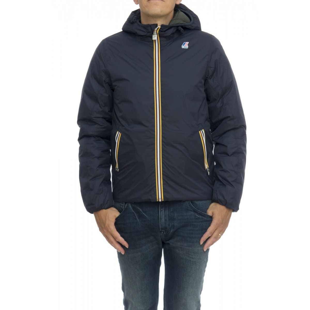 Reversible Down Jacket Man - JACQUES THERMO PLUS DOUBLE K001K40