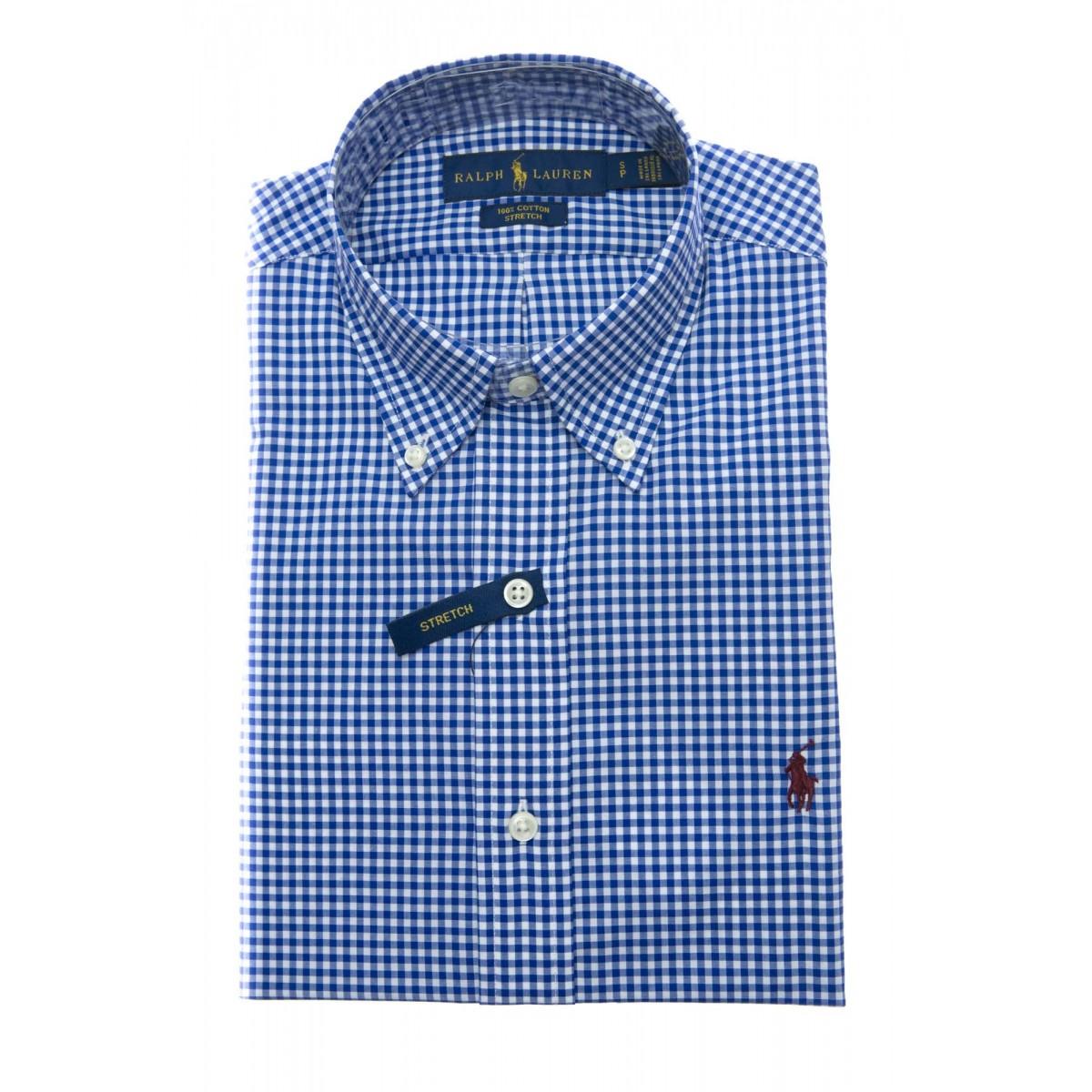 Camicia Uomo- 716296 015 camicia custom fit