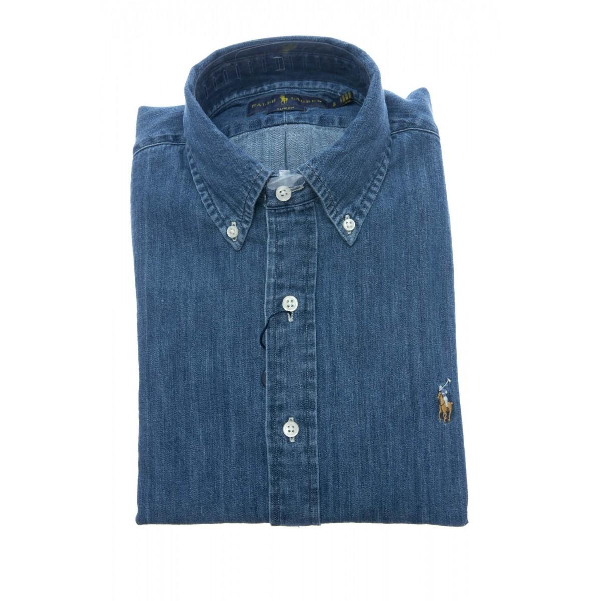 Camicia Uomo- 548539 001 camicia slim jeans