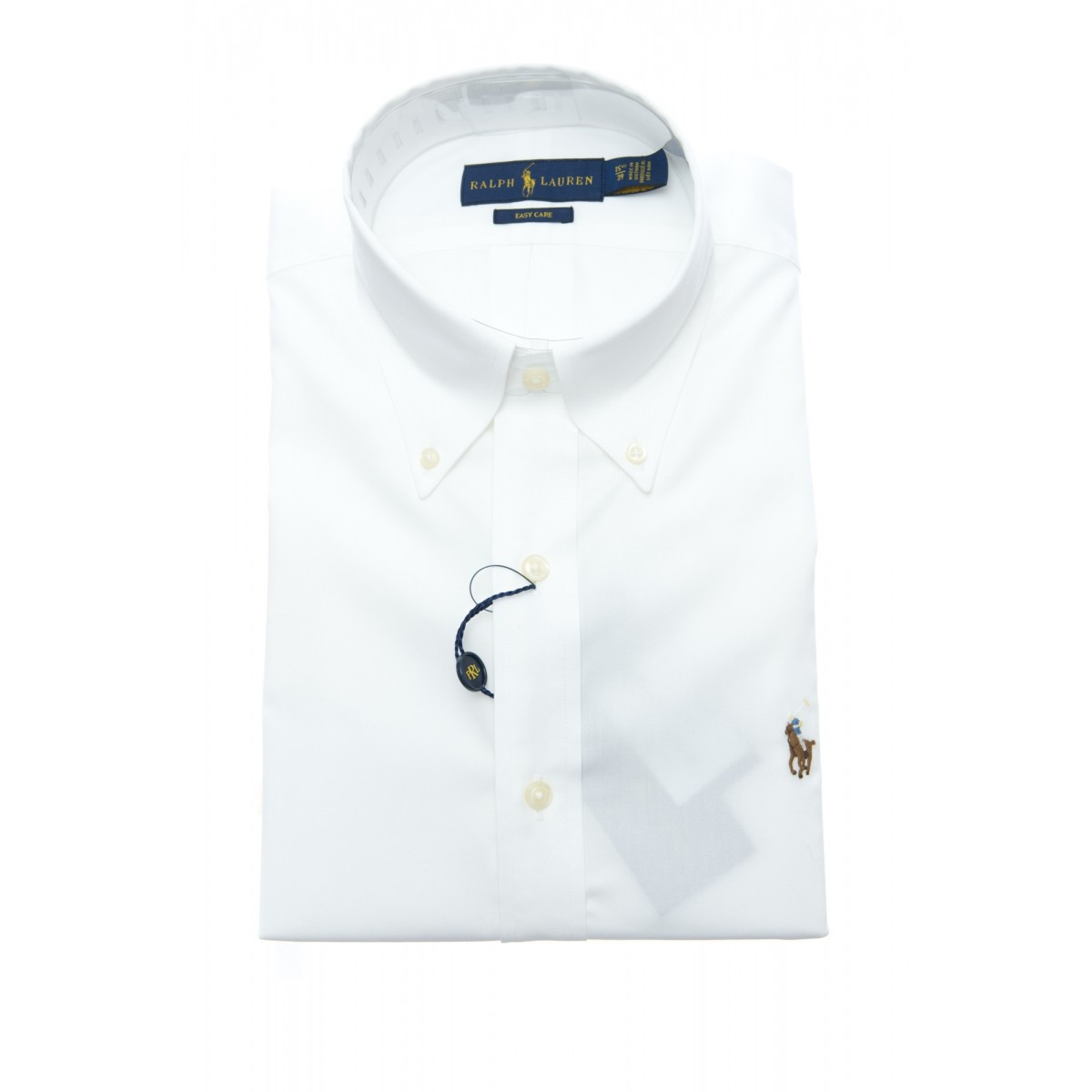 Camicia Uomo - 650217 002 camicia pin point custom fit