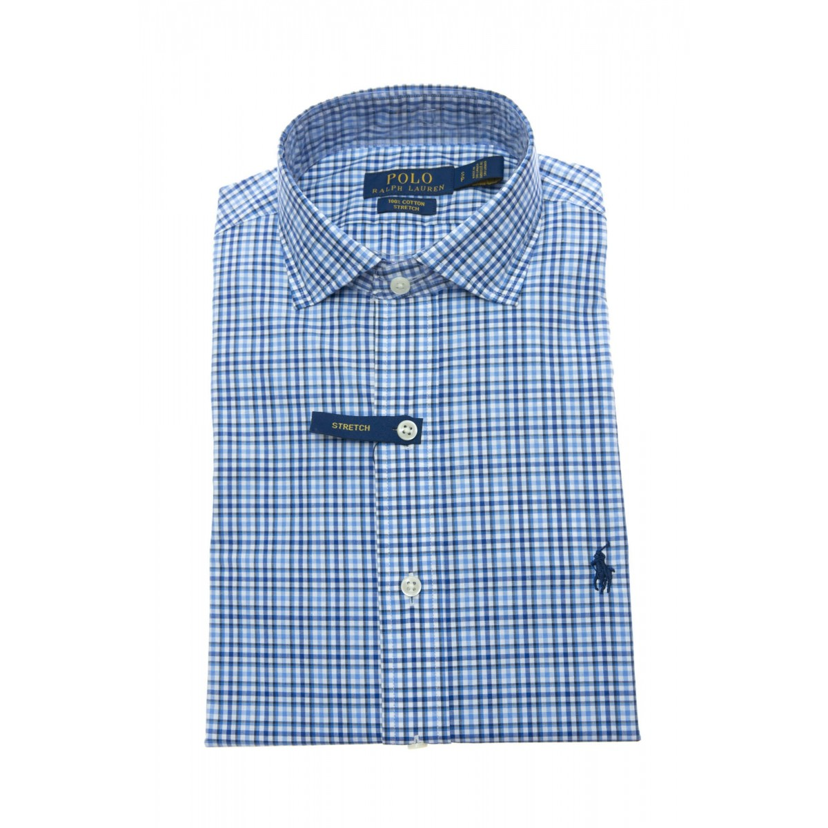 Camicia Uomo - 716297 camicia custom fit quadretto