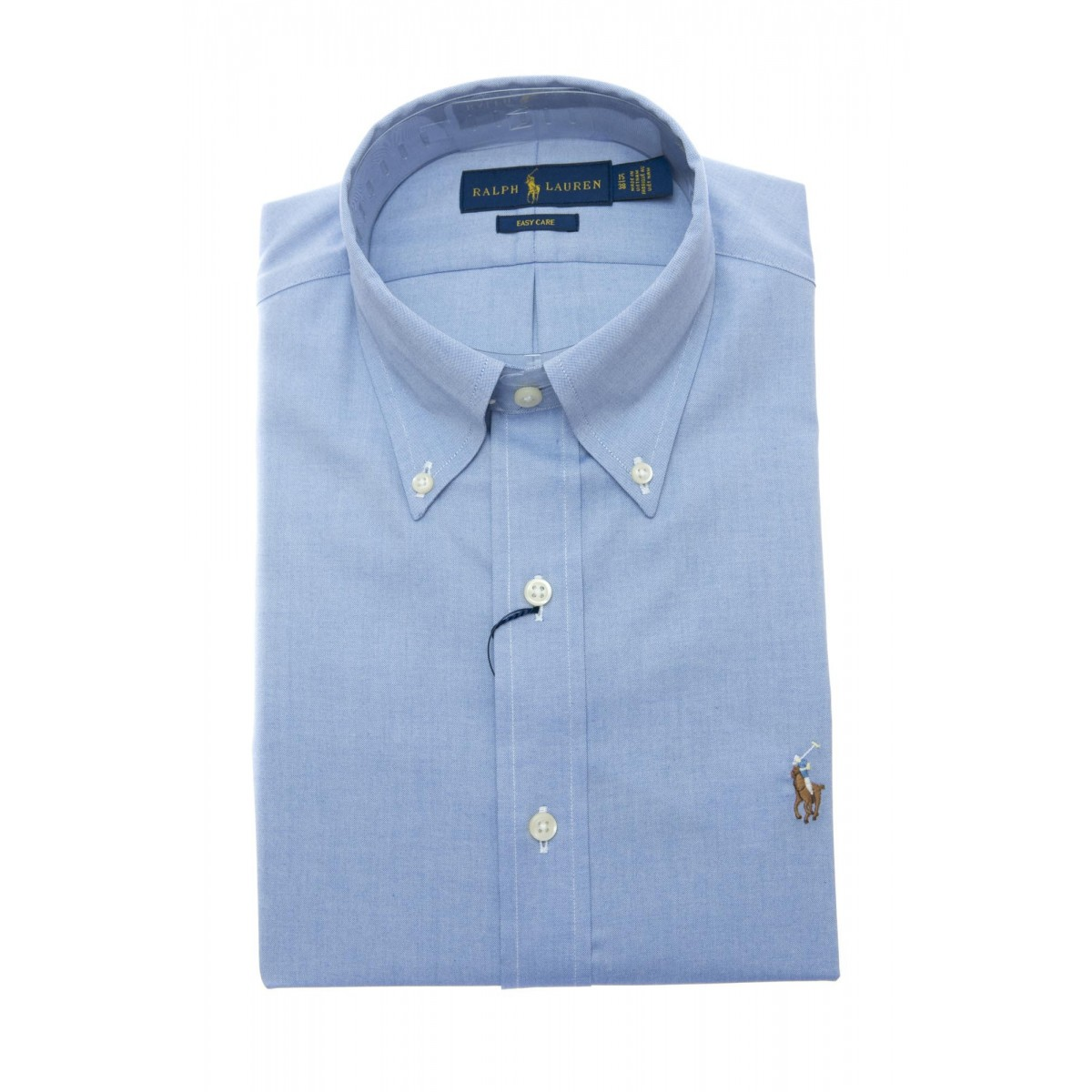 Camicia Uomo- 675619 004 camicia pin point custom fit
