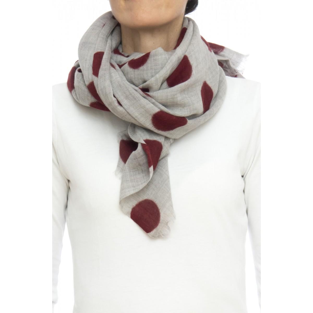 Sciarpa - 1662 ortensia 70x200 100% lana
