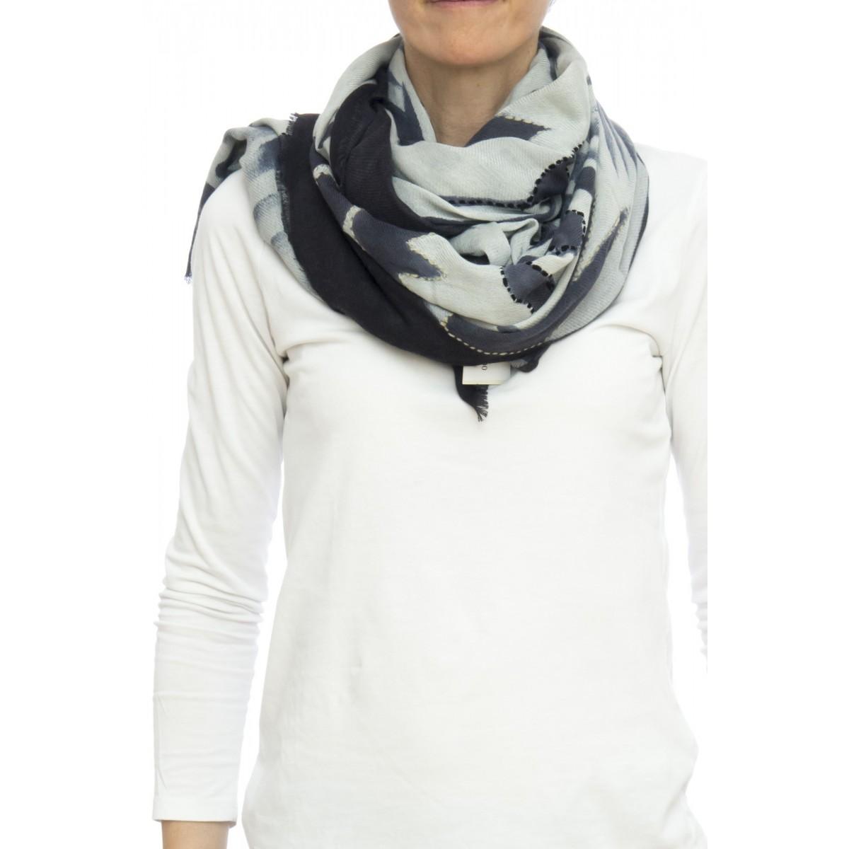 Sciarpa - 1673 giglio 100x200 50% lana 50% modal