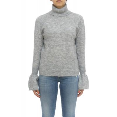 Maglieria - K28210 maglia moer collo alto