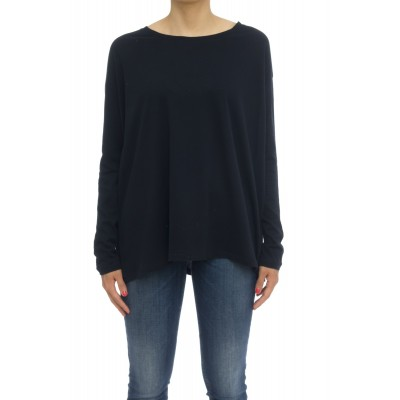 T-shirt donna - Fts027 j005 70% cotone 30% cashmeire t-shirt over