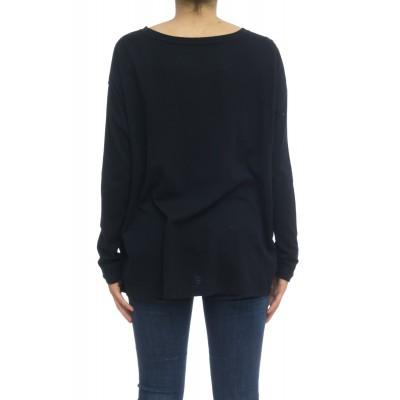T-shirt donna - Fts027 j005 70% cotone 30% cashmeire t-shirt over