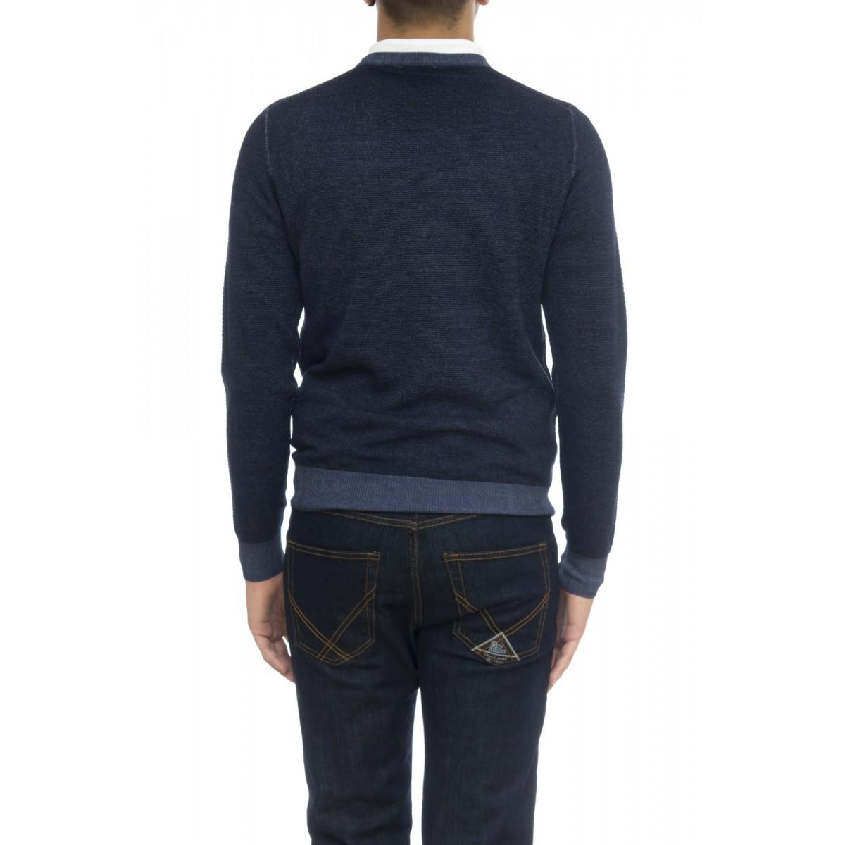 Maglia uomo - K28109 maglia grana riso lavata