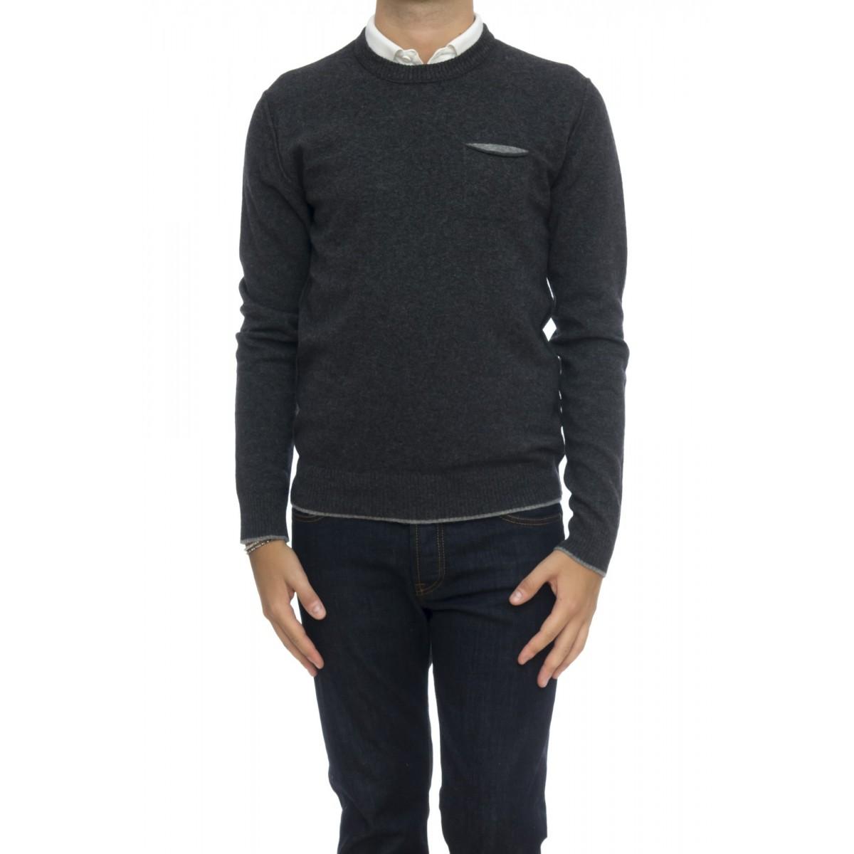 Maglia uomo - Womag1802 maglia giro taschino