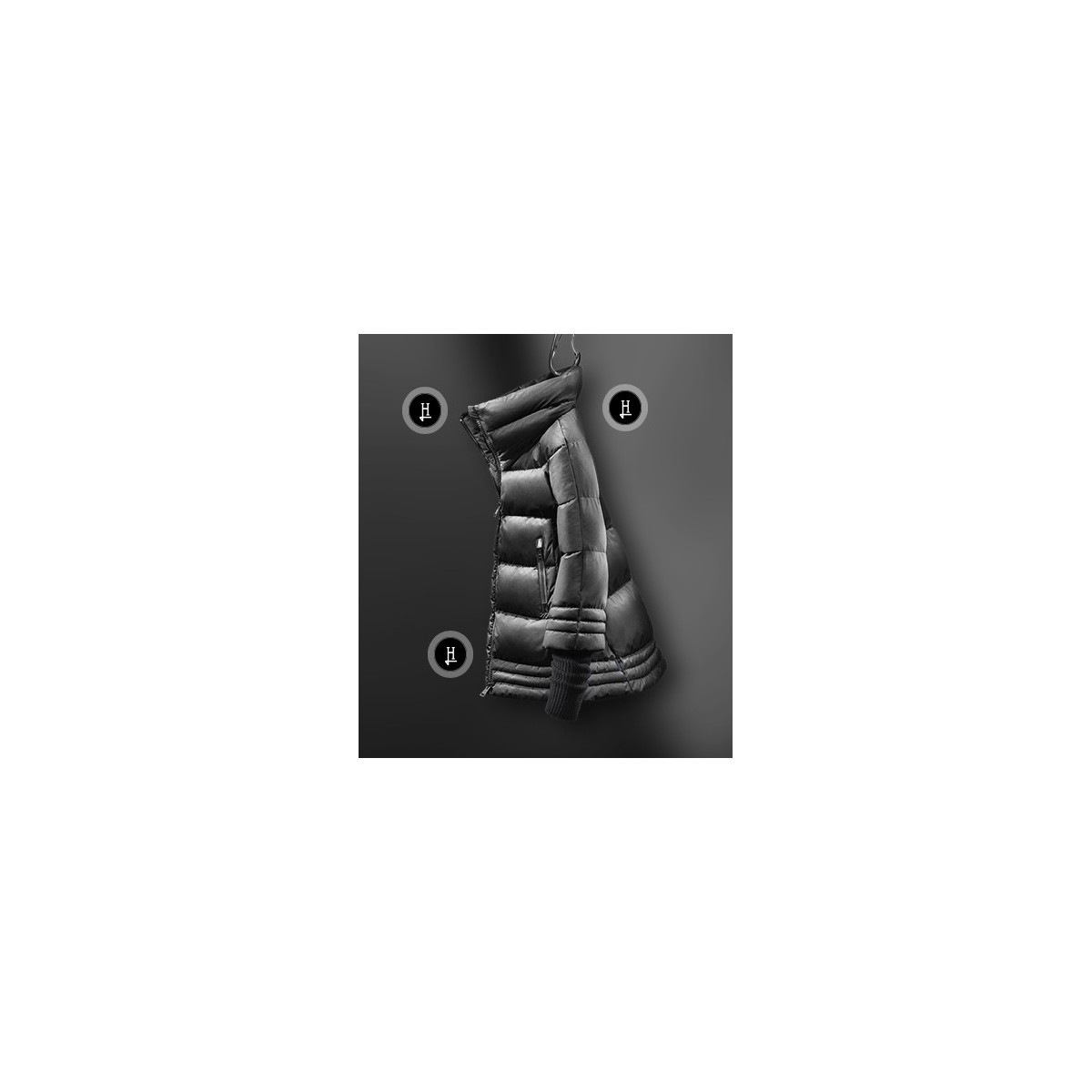 Piumino - Pi067dl 11106 kappa laminar