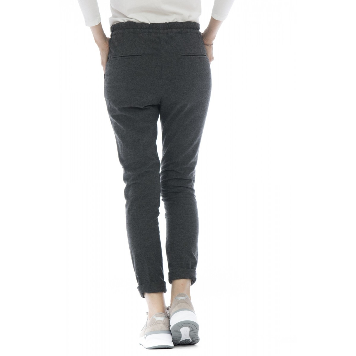 Pantalone donna - D04 pantalone coulisse panta jogging