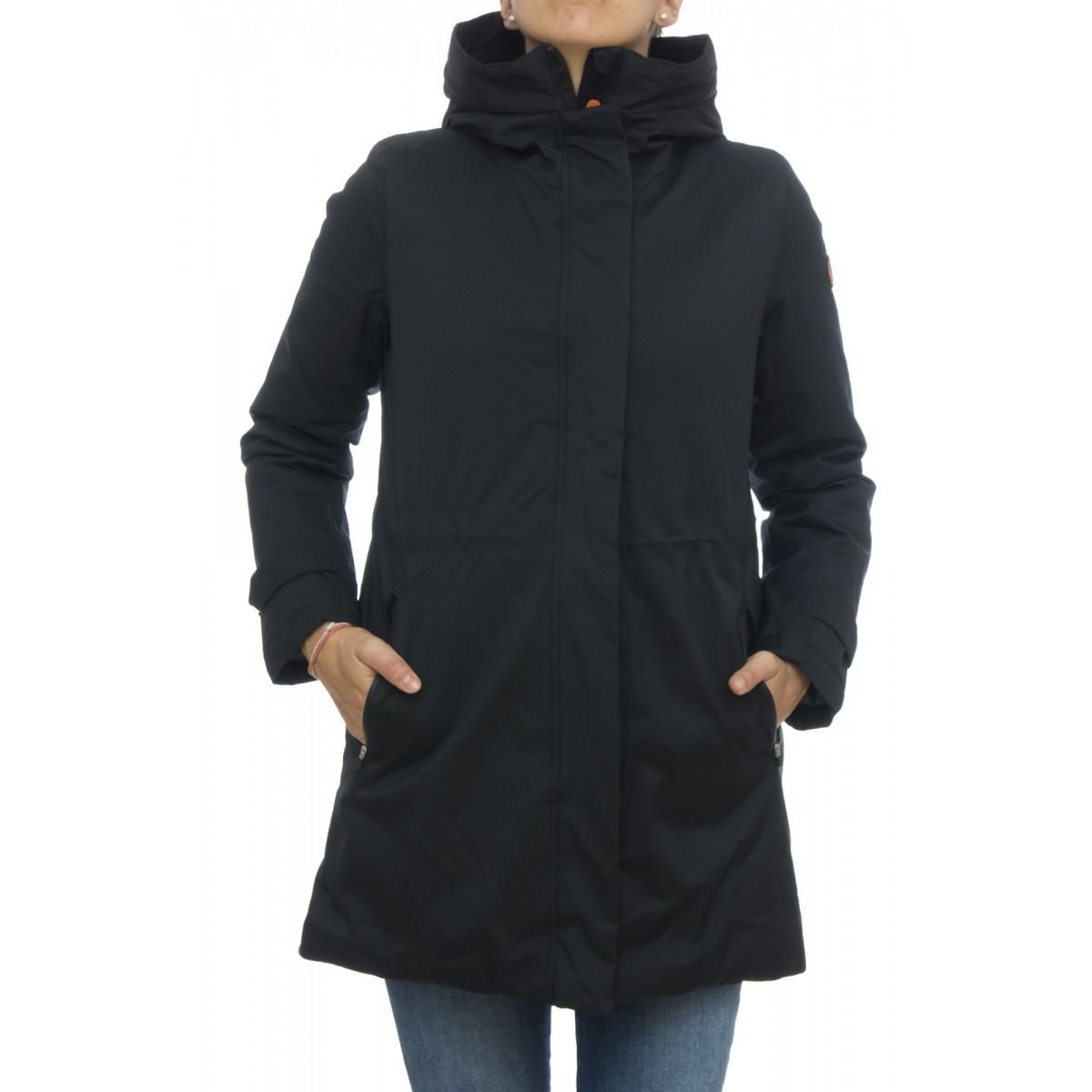 Piumino - D4033w twin7 parka pelliccia interno anti pioggia