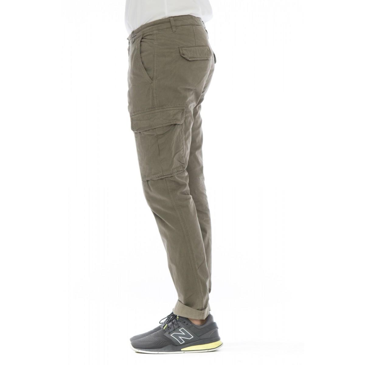 Pantalone uomo - Aiko 1027 pantalone tasconato slim