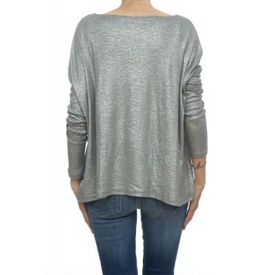 T shirt manica lunga - Fts013 j013 70% cotone 15% cashmeire 15% seta