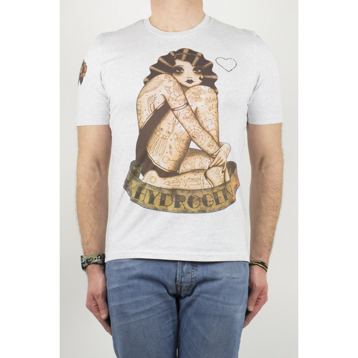 T-Shirt Hydrogen uomo - 140101 015