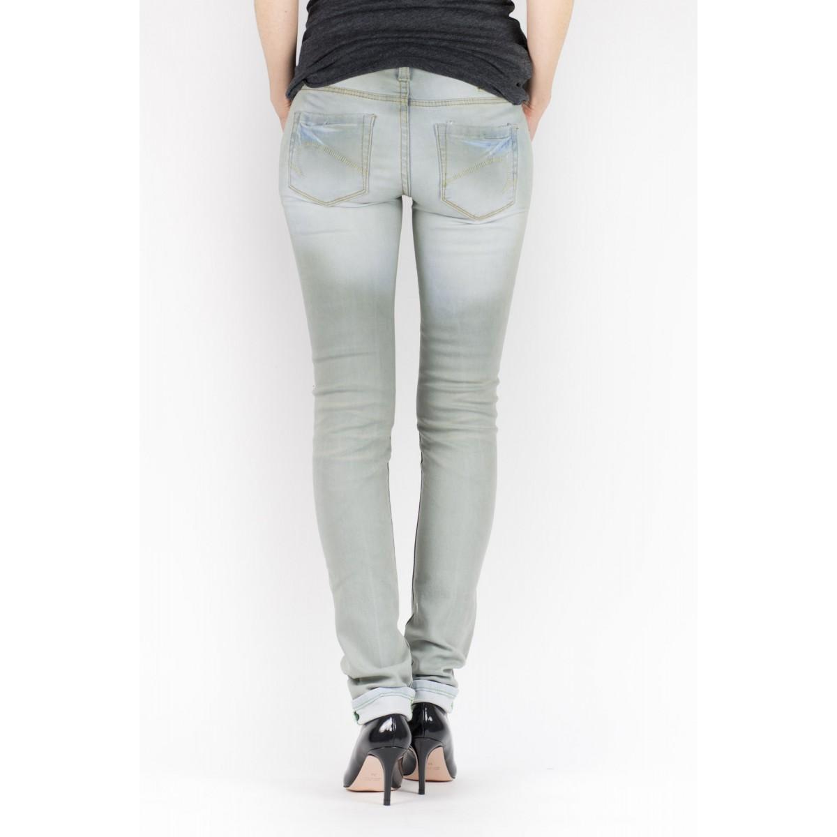 Jeans One Green Elephant Woman - Kosai  2369