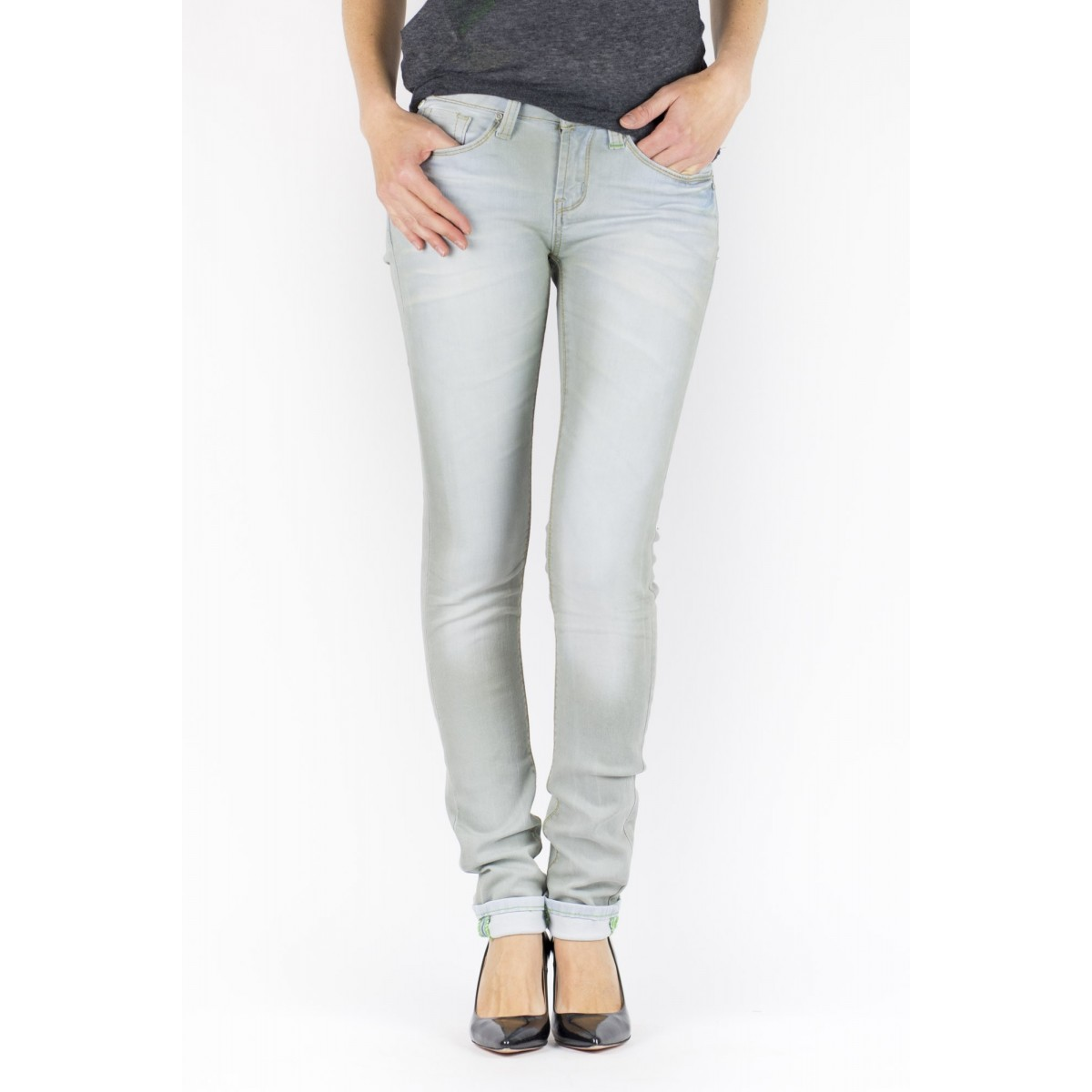 Jeans One Green Elephant Woman - Kosai  2369