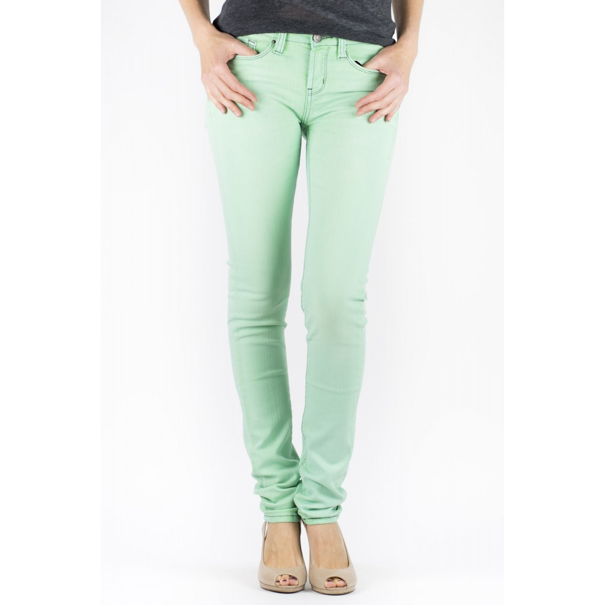 Jeans One Green Elephant Woman - Kosai 2340