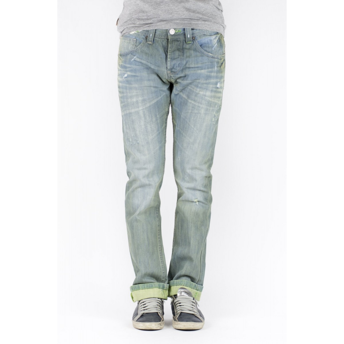 Jeans One Green Elephant Uomo - Chico 02351