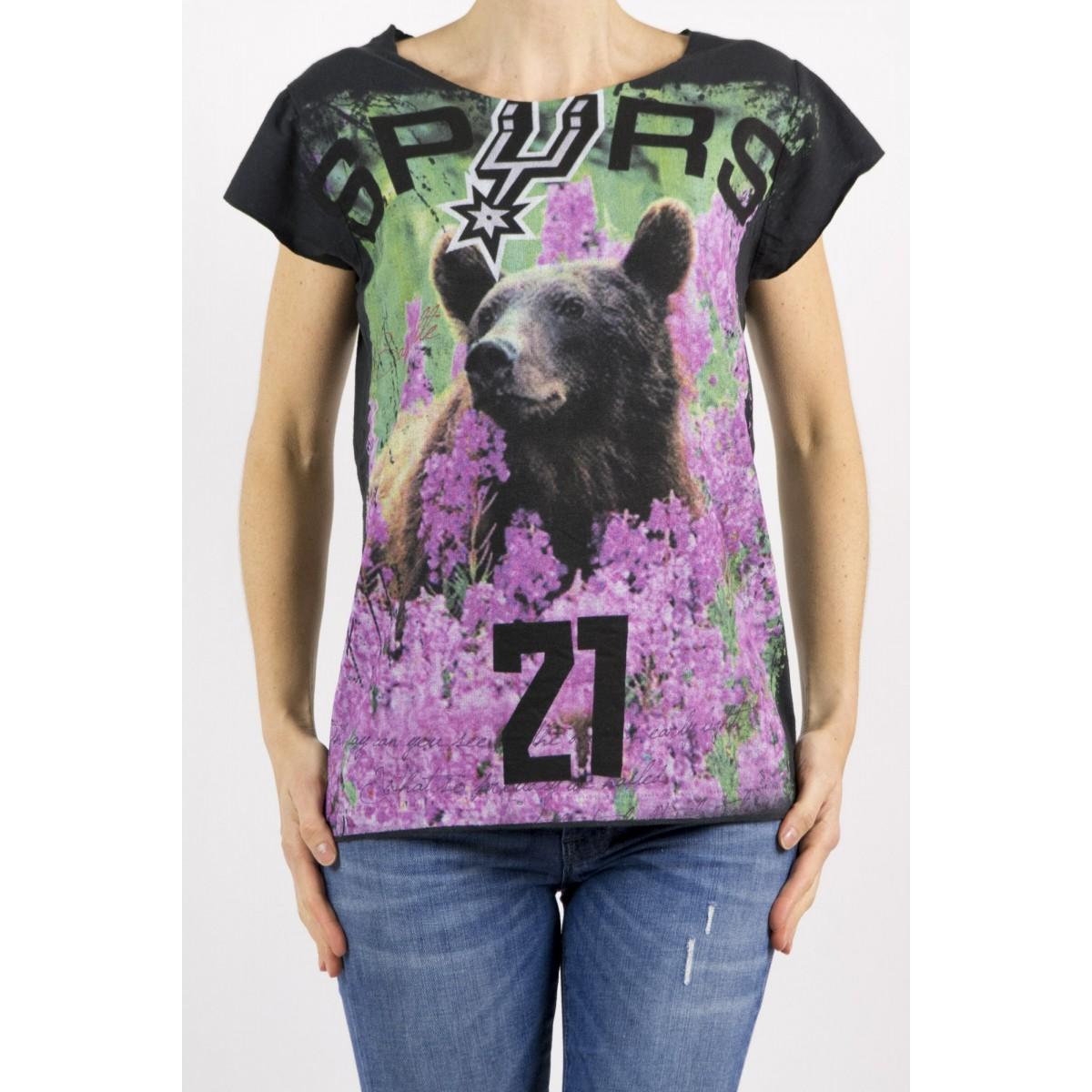 T-Shirt Bastille Damen - 2.9 T-Shirt Schwarz