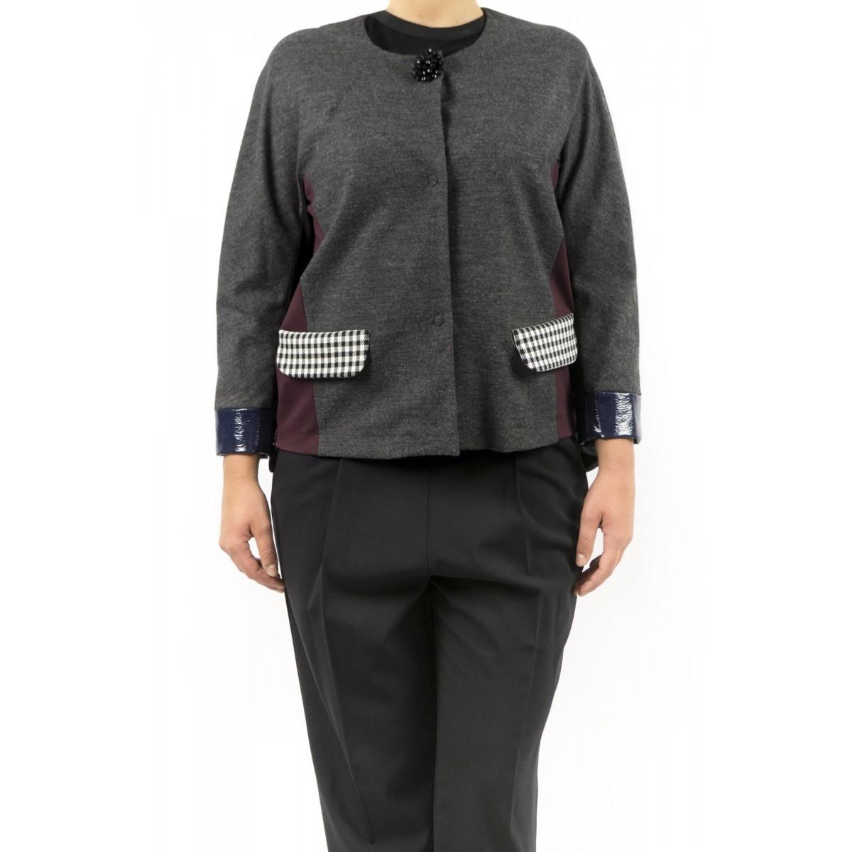 Jacket Erika Cavallini - Semicouture - P5I118