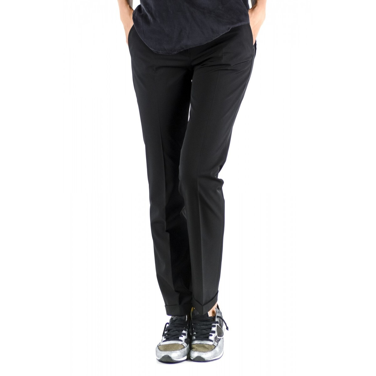 Trousers Incotex Woman - 172516 D4428 Leyre
