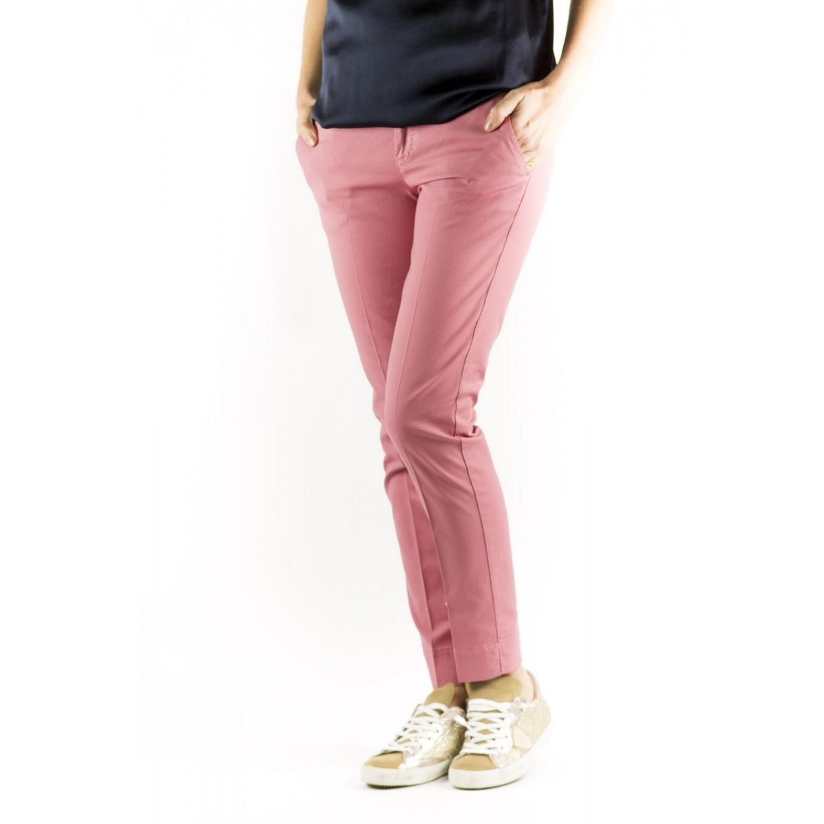 Pantalone PTW Donna - VTNY Ts63 Piquet Cotone Strech