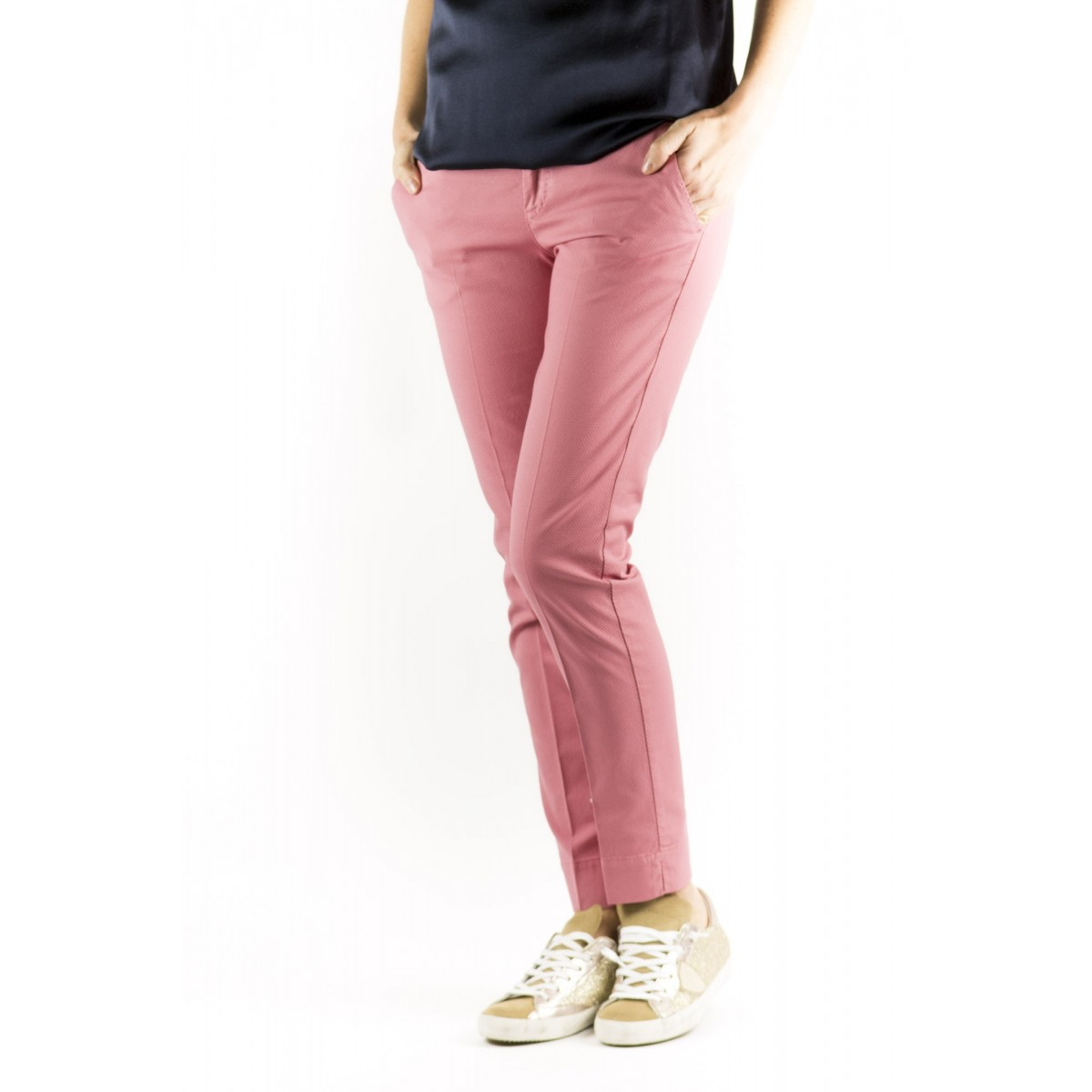 Trousers PTW Woman - VTNY Ts63 Piquet Cotone Strech