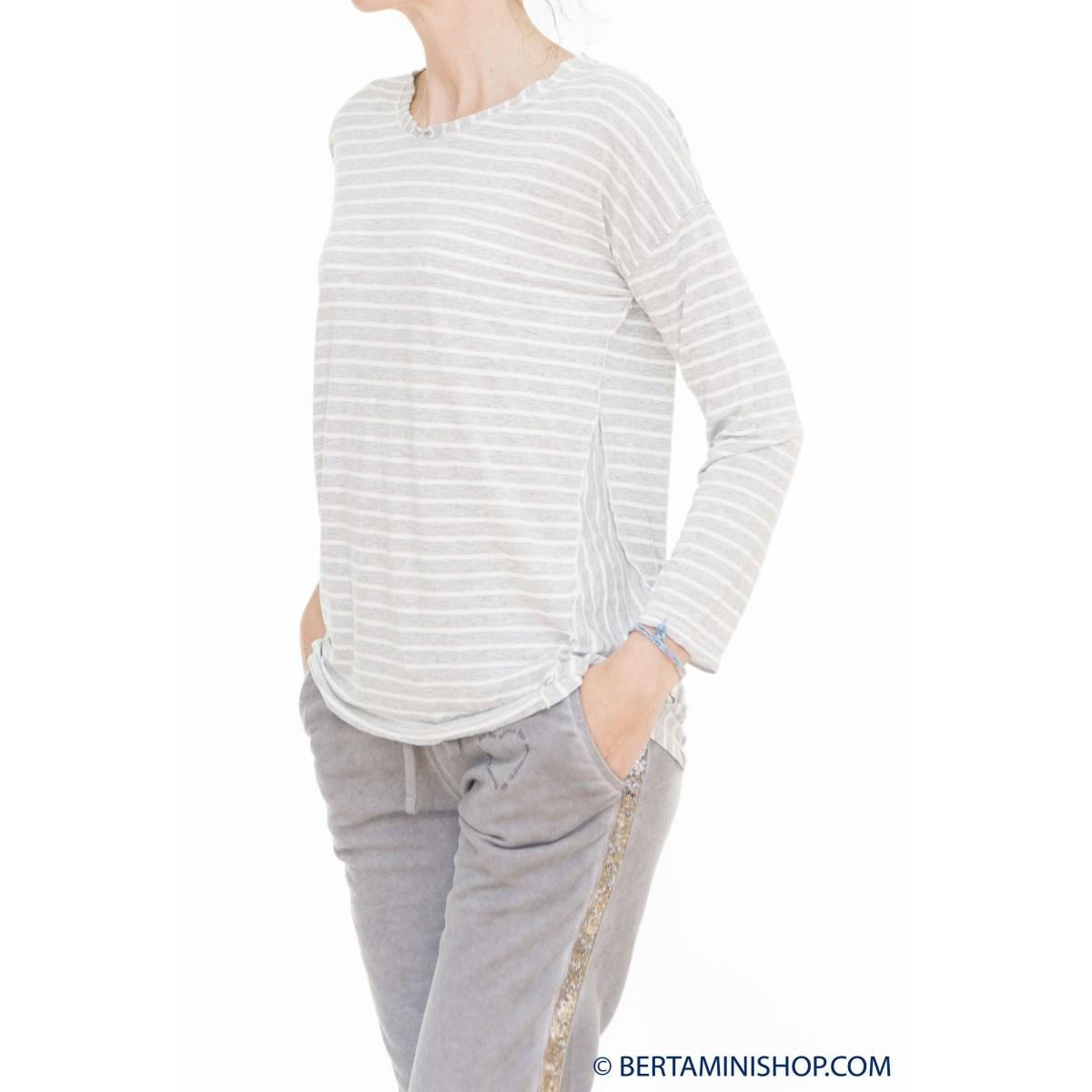 T Shirt Better Rich Donna - F36 Tshirt Manica Lunga Rigata