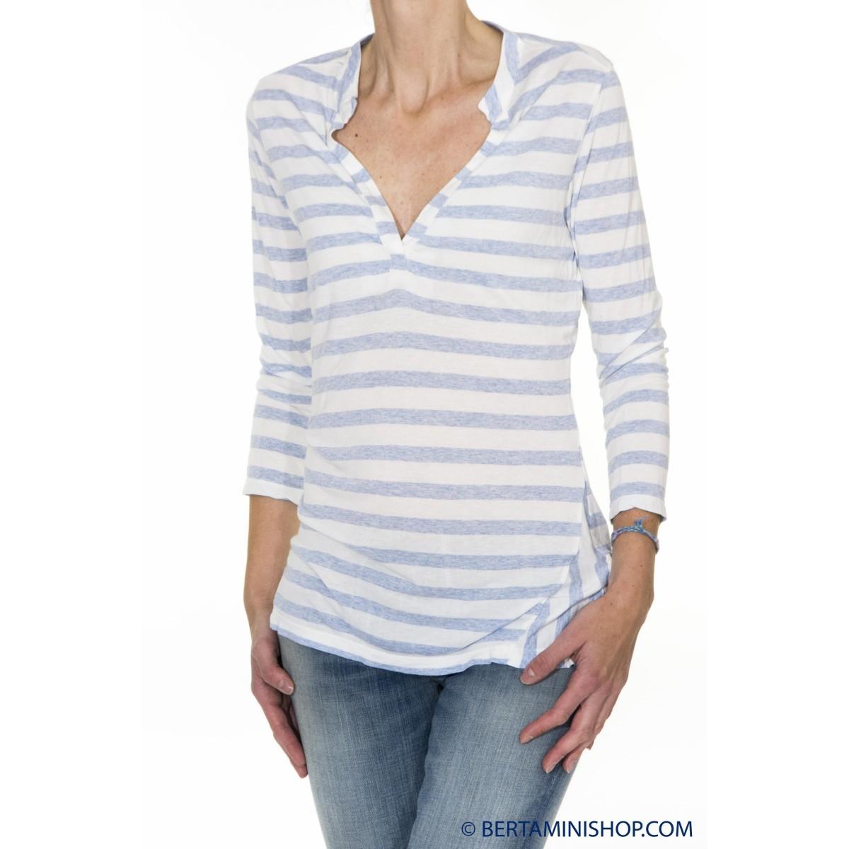 T-Shirt Better Rich Donna - F38 Tshirt Manica Lunga V