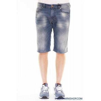 Bermuda Diesel Man - Thashort Bermuda Jeans Slim