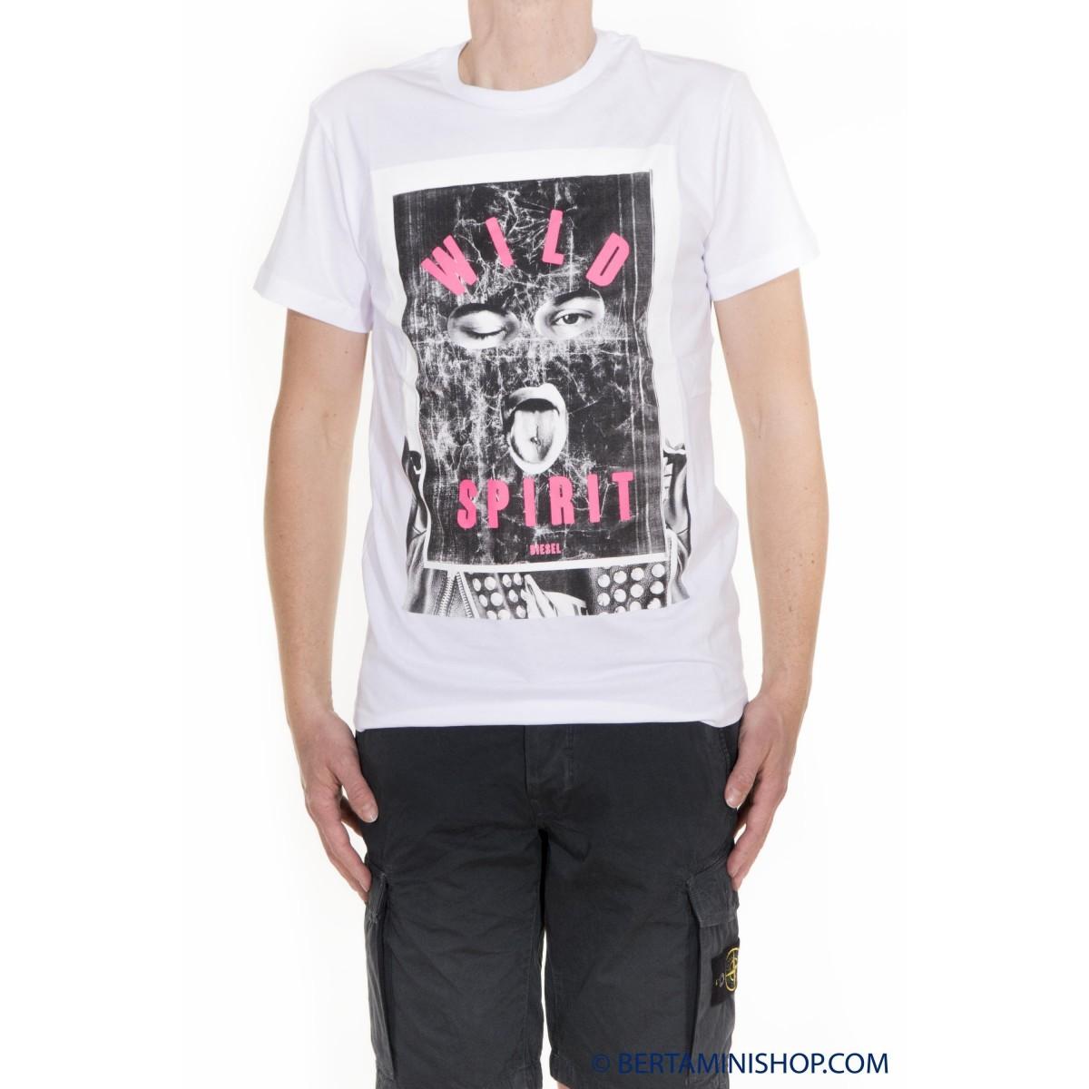 T-Shirt Diesel Man - T-Diego-IA