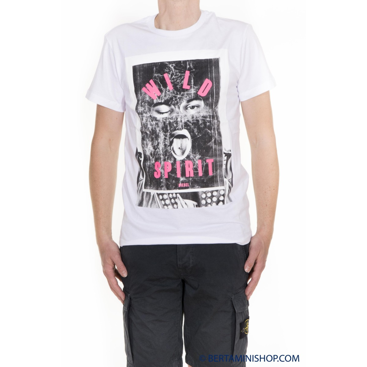 T-Shirt Diesel Uomo - T-Diego-IA
