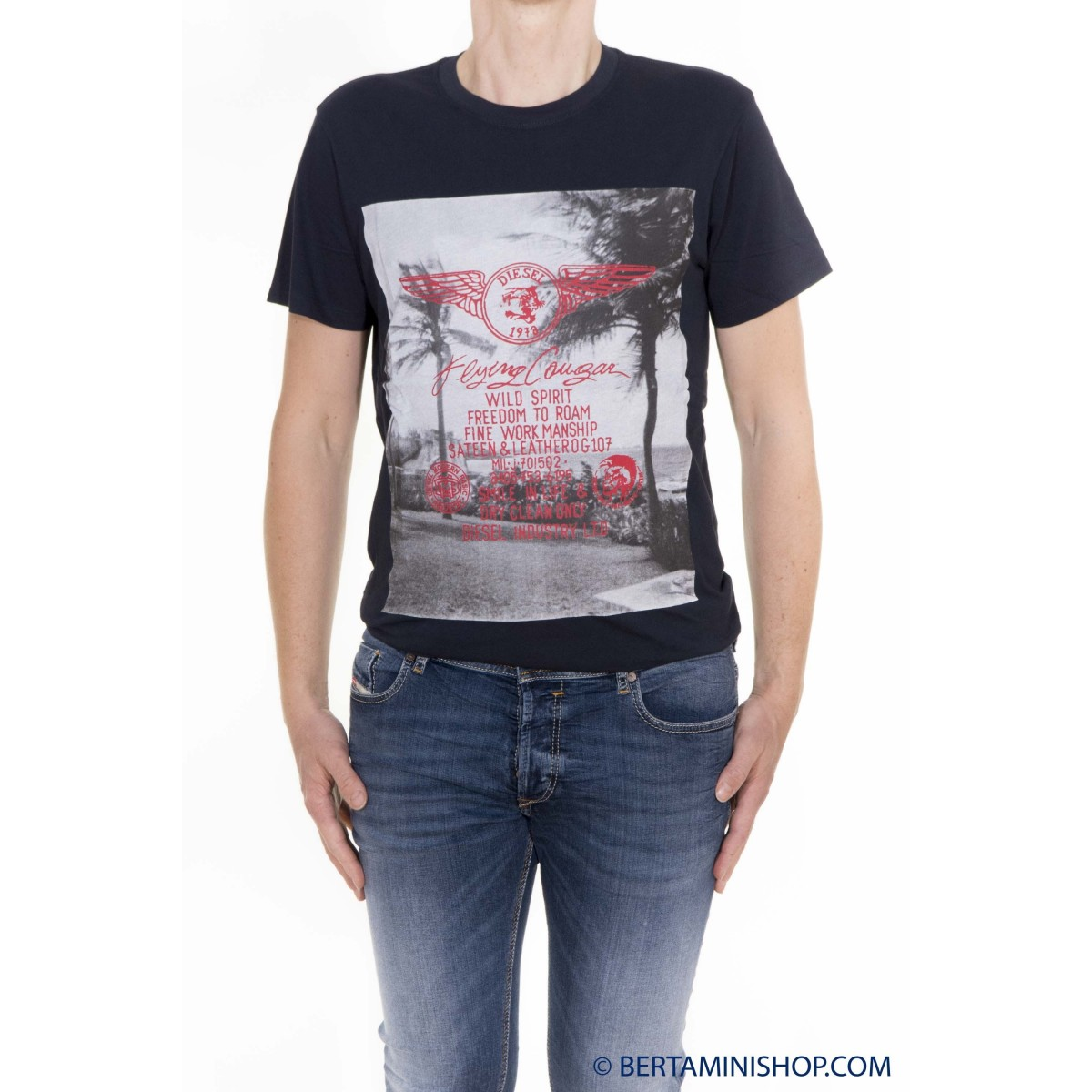 T-Shirt Diesel Manner - T-Diego-FS