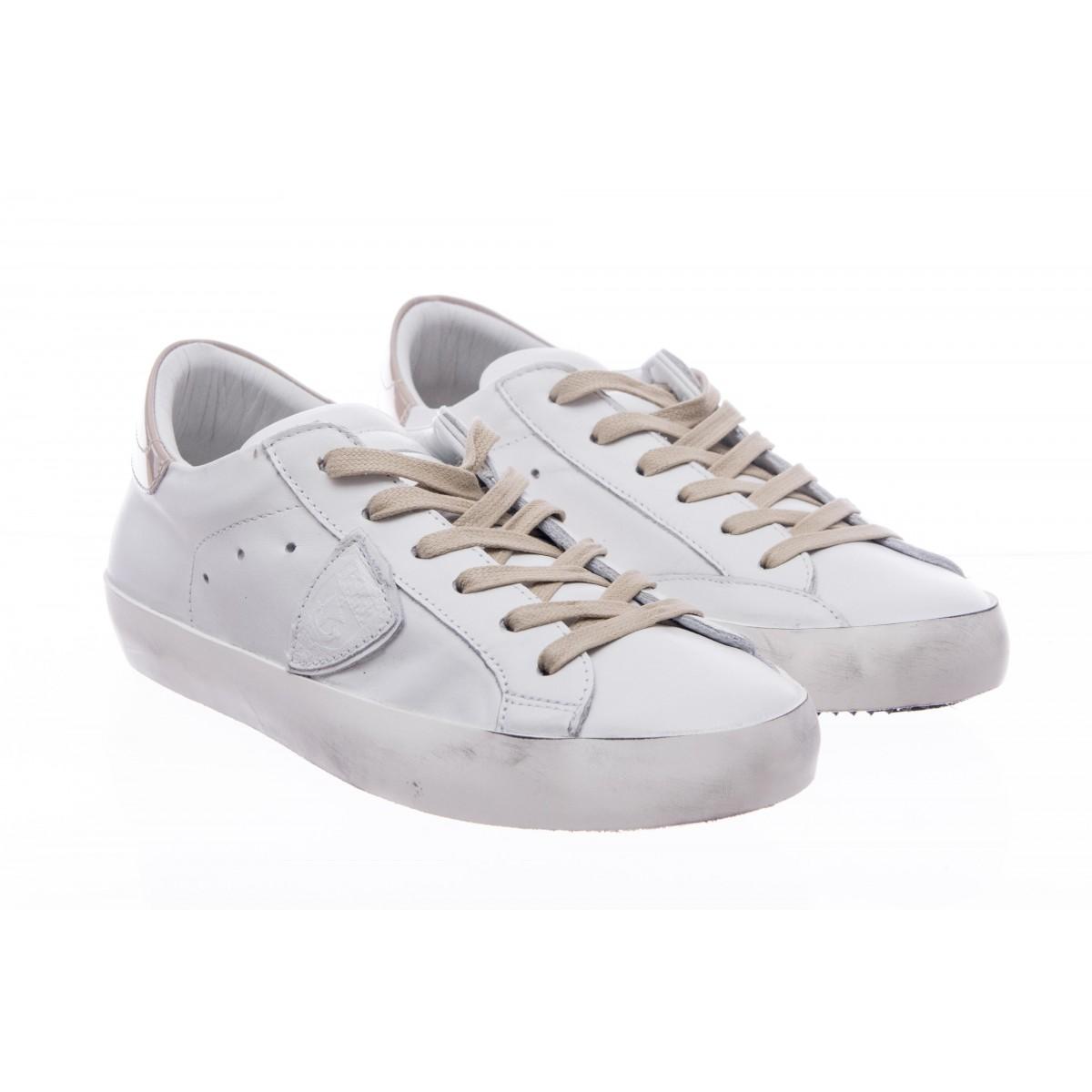Scarpe - Clld tutta pelle bianca