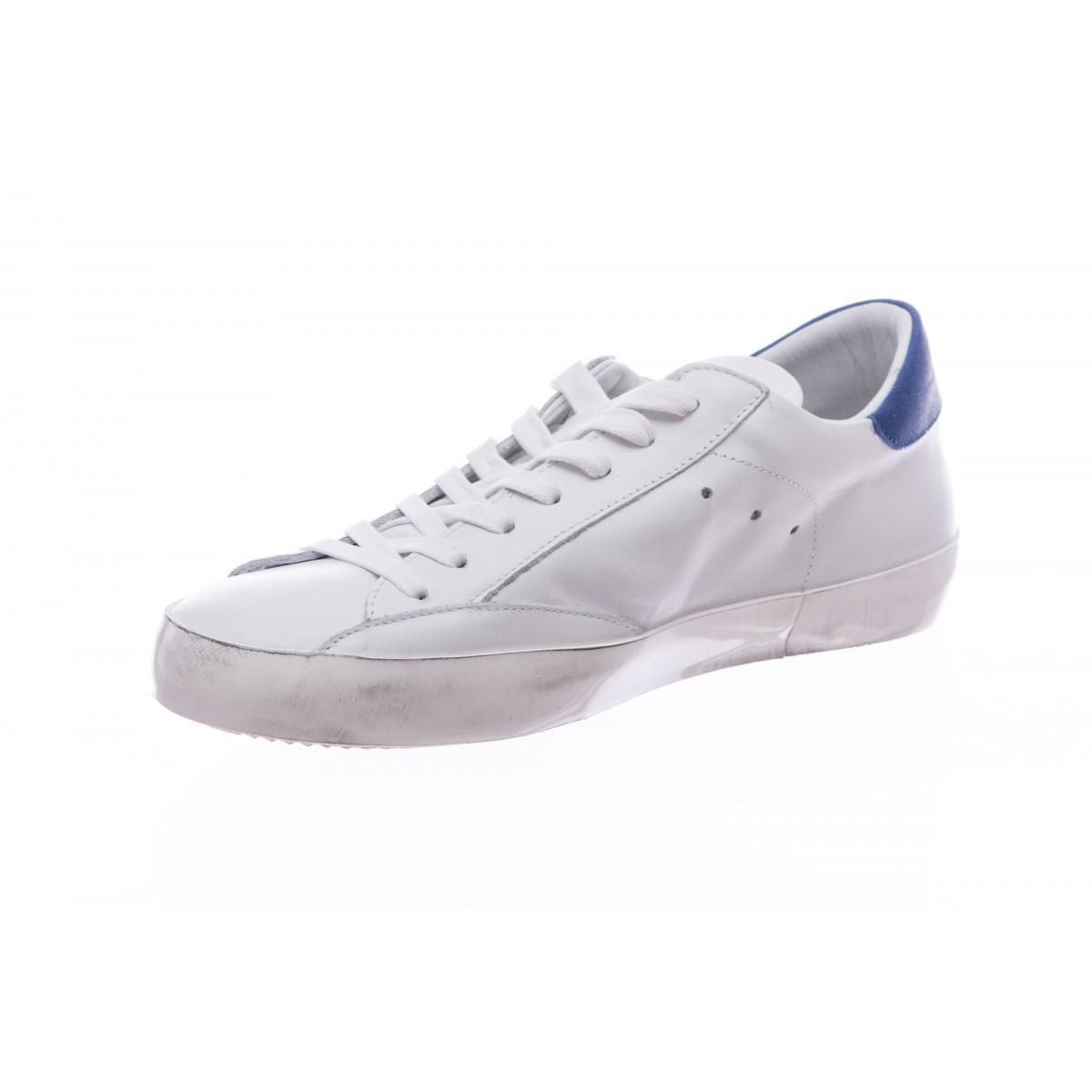 Scarpe - Cllu vn11 bianca tutta pelle